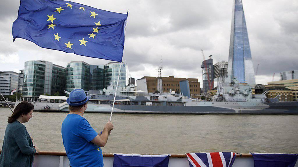 London will auch nach dem Brexit einen komfortablen Zugang zum EU-Markt für Dienstleister. (Archivbild)