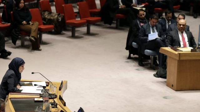 Diskussion über den Jemen im UNO-Sicherheitrat in New York