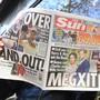 Meghan und Harry auf dem Cover von «The Sun» am Donnerstag.