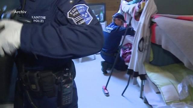 Illegale Asylbewerber in der Unterkunft Oftringen