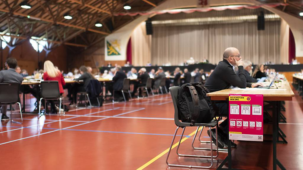 Der Thurgauer Grosse Rat bewilligte am Mittwoch einen Nachtragskredit für eine Analyse und eine Optimierung des Baugesuchs- und Planungsgeschäfts-Prozesses (Archivbild).