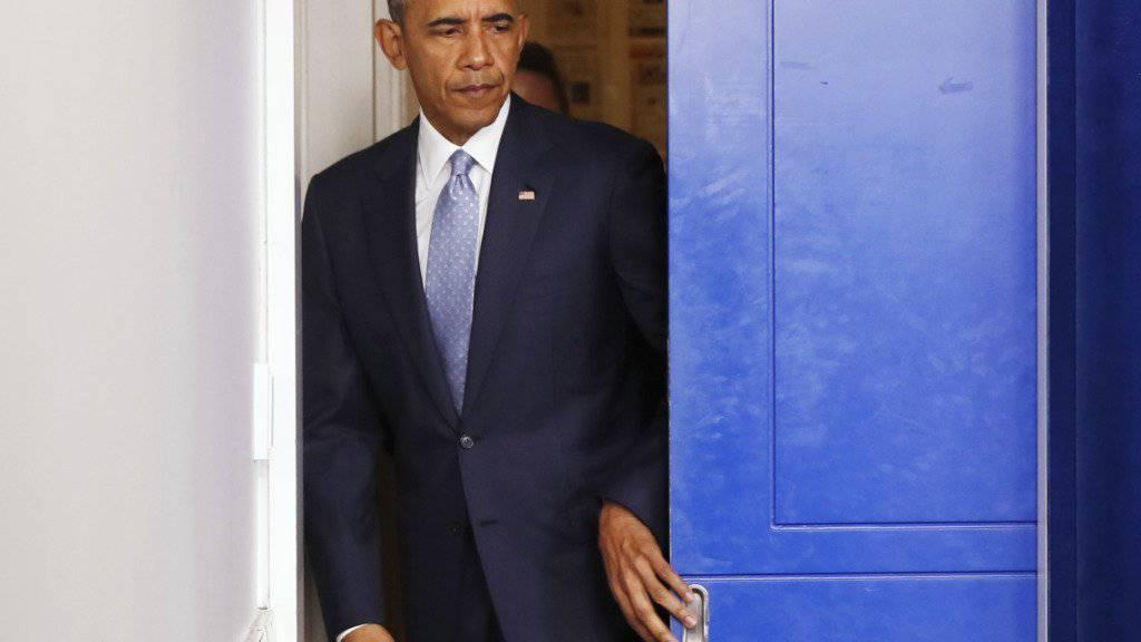 US-Präsident Barack Obama ruft die Nation nach dem tödlichen Vorfall in Baton Rouge zur Einheit auf.