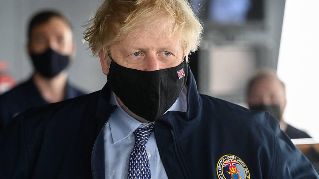 Boris Johnson, Premierminister von Großbritannien Foto: Leon Neal/PA Wire/dpa