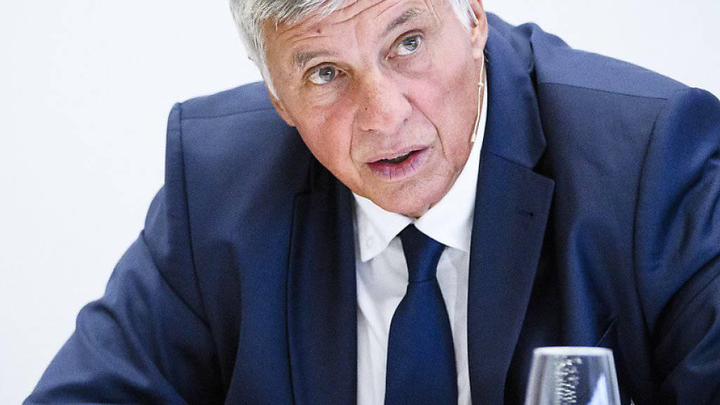 Der abgetretene Verbandspräsident Marc Furrer (im Bild) wird ad interim ersetzt