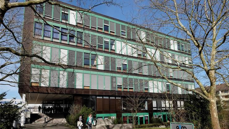 Das Gymnasium Muttenz.