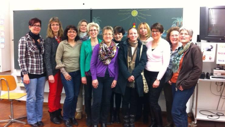 Schulsekretärinnen des Bezirks Zurzach