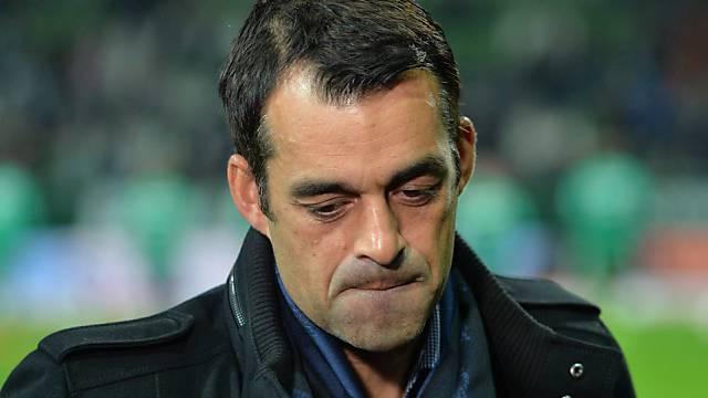 Werder Bremen feuert Trainer Robin Dutt