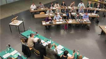 Der Einwohnerrat Baden nahm die Ziele des Stadtrates auseinander.