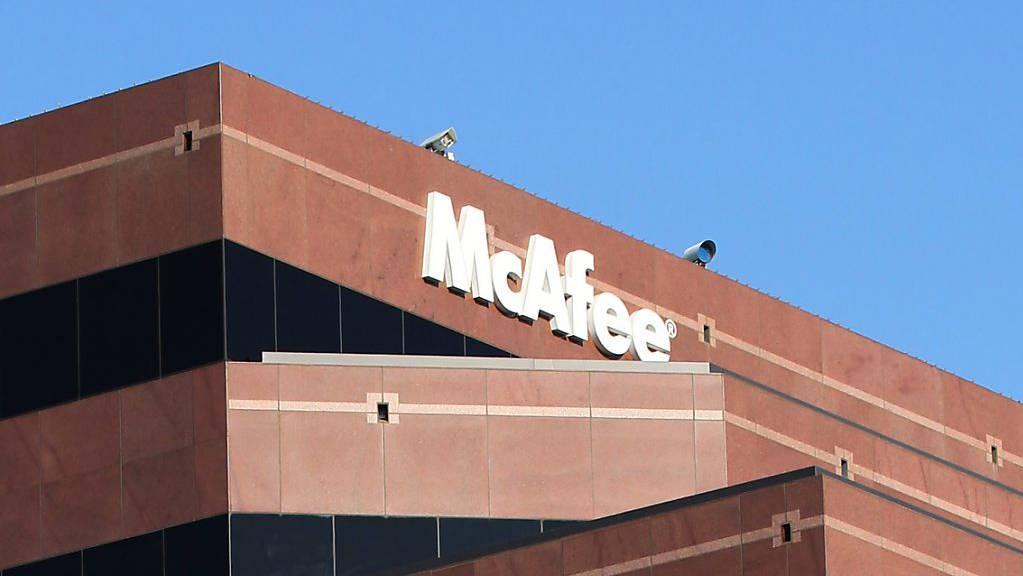 Der amerikanische Hersteller von Computersicherheitssoftware McAfee bereitet seine Rückkehr an die US-Börse vor. (Archivbild)