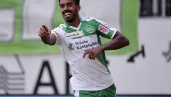 Seifedin Chabbi schoss sein einziges Tor für St. Gallen Ende August gegen Luzern