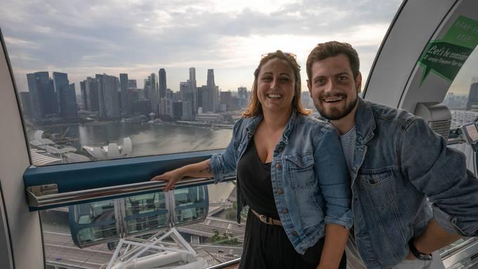 Das Fazit: Nina und Domi schauen auf ihre Zeit in Singapur zurück