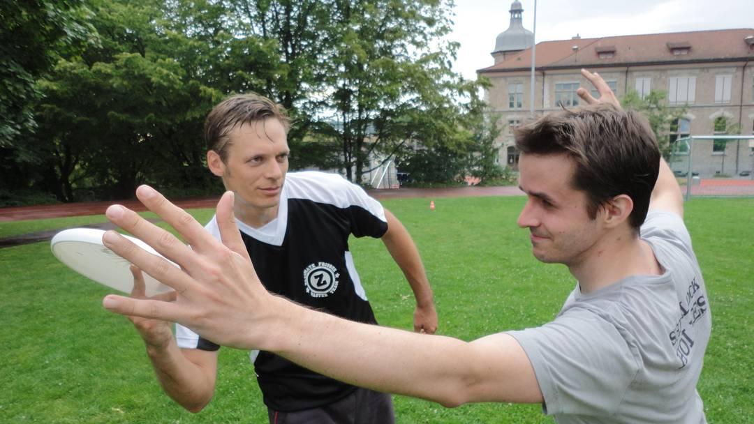 So wird in der Schweiz professionell Frisbee gespielt