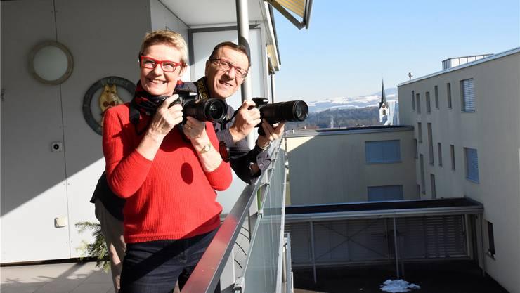 Annemarie Kölliker und Roberto Saibene fotografieren aus Leidenschaft – und setzen mit ihren Shows ferne Länder, aber auch das Freiamt in Szene.