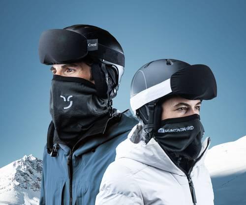 Hat die ersten Tests bestanden: Der neue Maskenschal.
