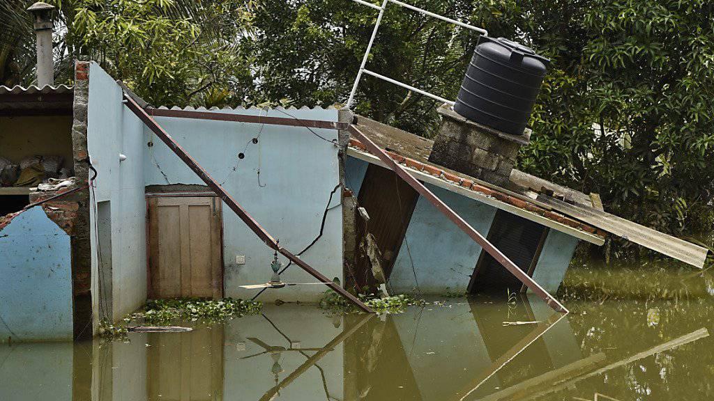 Starke Regenfälle verursachen im Norden Indiens schwere Überschwemmungen.