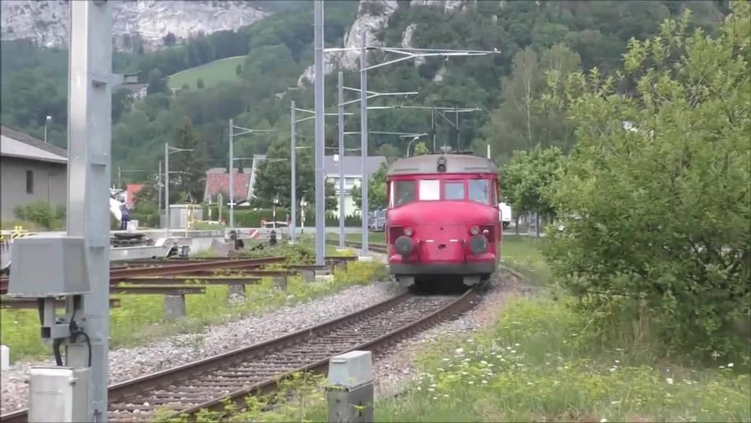Der Roter Pfeil am 120. Geburtstag der Oensingen-Balsthal-Bahn (OeBB)