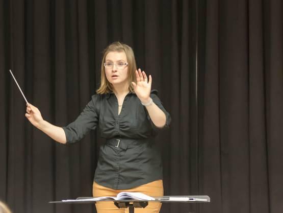 Dirigentin Karin Wäfler