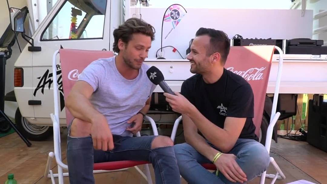 Bastian Baker im Interview vor seinem Konzert am Argovia Fäscht 2019