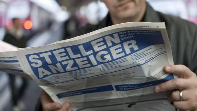 In der Schweiz gibt es mehr Erwerbslose (Archiv)