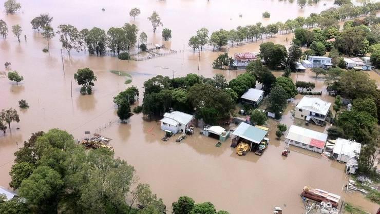 Besonders betroffen: die Gegend um die Stadt Rockhampton.