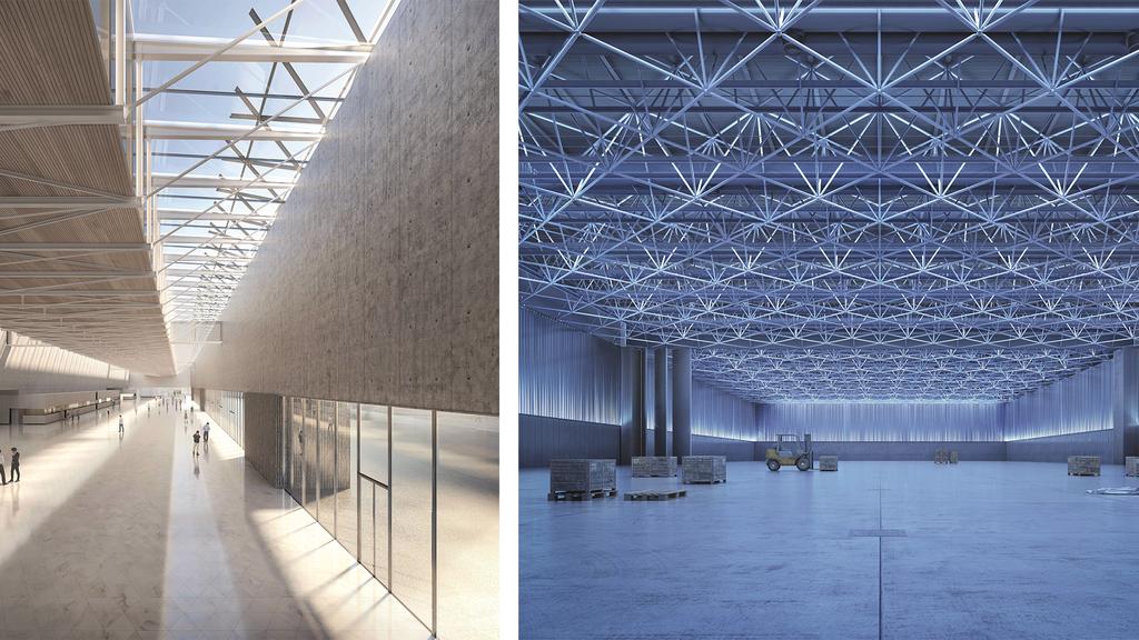So soll die neue Olma-Halle aussehen