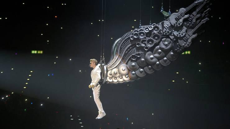 Justin Bieber begeistert die Fans im Zürcher Hallenstadion