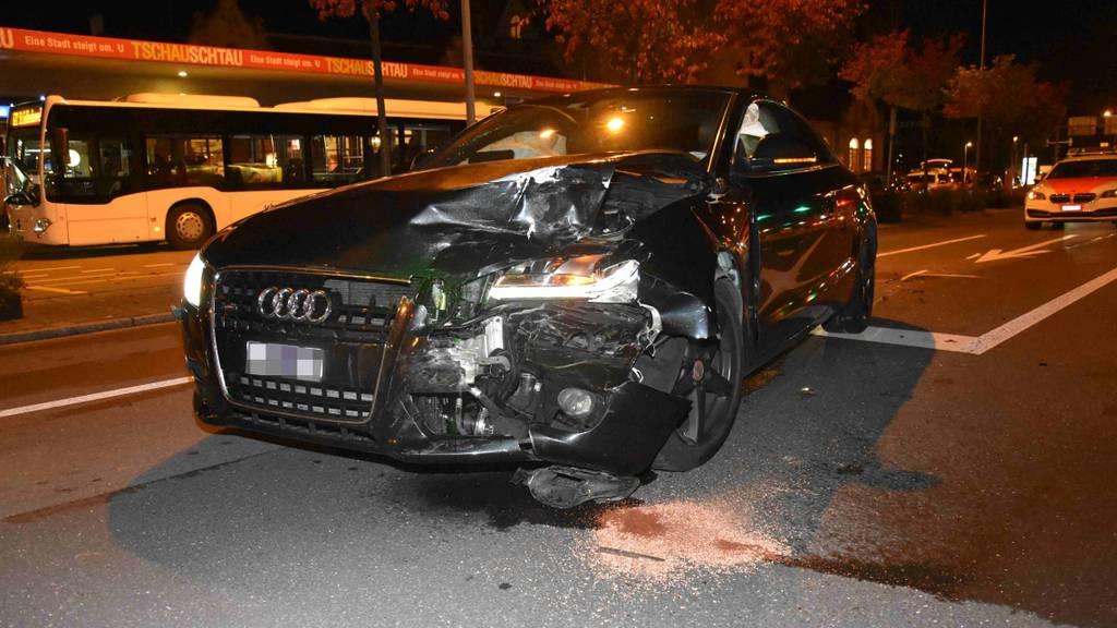 24-Jährige baut alkoholisiert einen Unfall