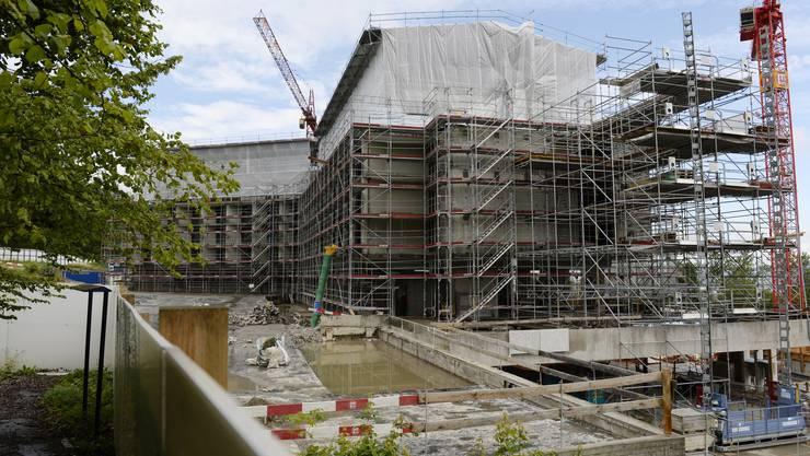 Die Bauarbeiten am Hotel Atlantis wurden unterbrochen. (Archivbild)