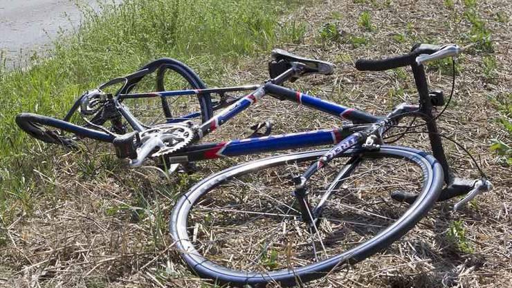 Die Velofahrerin verletzte sich beim Unfall mittelschwer.