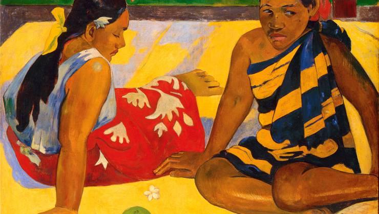 Im Bild «Parau api» symbolisiert eine Zündholzschachtel die Zivilisation.