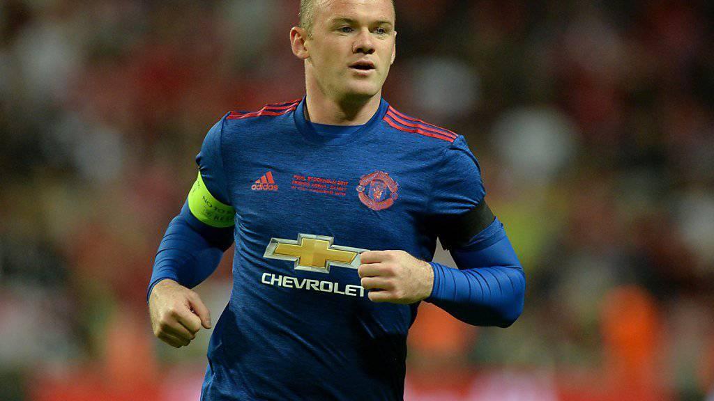 Wayne Rooney geht zurück zu Everton.