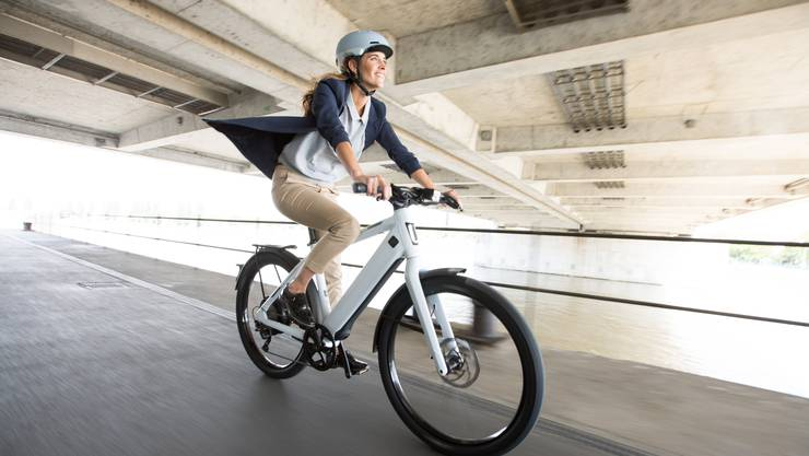Auch über längere Strecken soll man schweiss- und stressfrei damit zur Arbeit fahren.