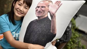 Der ehemalige Apple-Chef Steve Jobs ist auch fünf Jahre nach seinem Tod präsent. (Symbol)