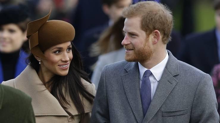 Bereits kurz vor Weihnachten war die US-Schauspielerin zu einem Essen mit den Royals in den Buckingham-Palast eingeladen worden.