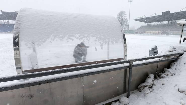 St. Gallen gegen GC wurde auf Montag verschoben