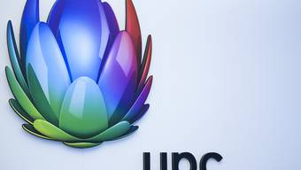 Wie es weitergeht mit dem Replay-TV ist ein grosser Zankapfel zwischen TV-Sendern und Kabelnetzen: Logo des Kabelnetzbetreibers UPC. (Symbolbild)
