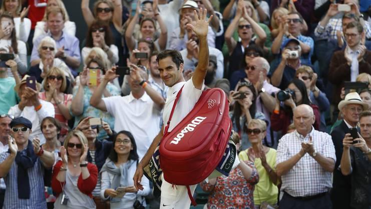 Federer marschiert in Wimbledon Richtung achter Titel.