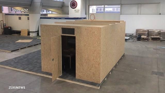 Holzspan- statt Ikea-Hütten