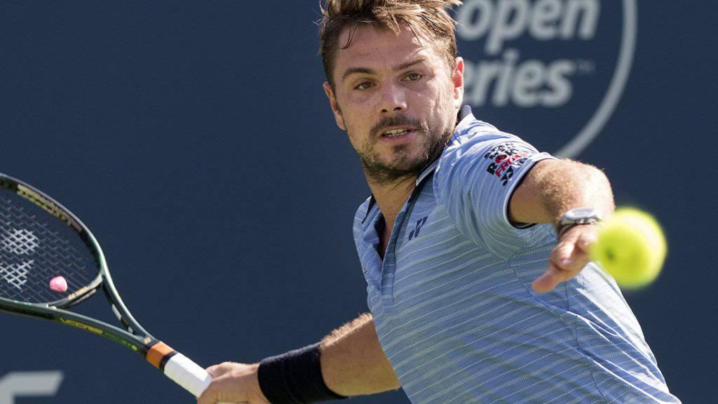 Stan Wawrinka könnte bei einem Achtelfinal-Vorstoss auf Novak Djokovic treffen
