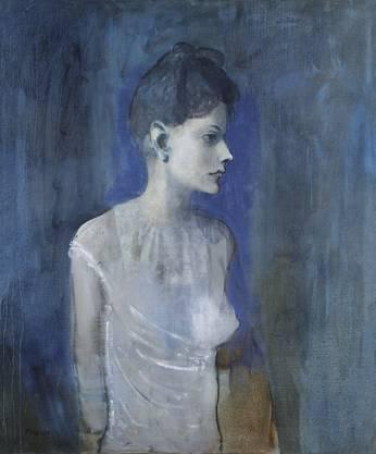 Pablo Picasso; «Jeune femme en chemise» (1905)