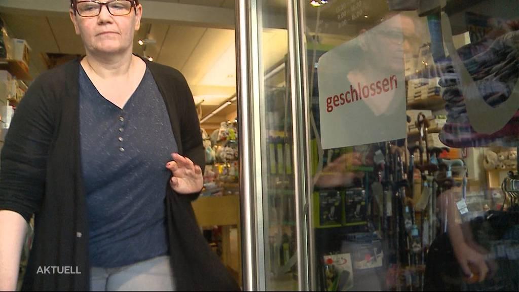 Läden rüsten sich für den Notstand