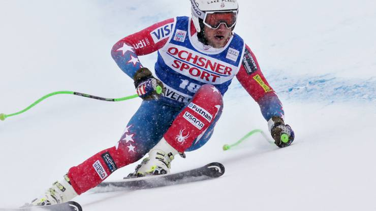 Andrew Weibrecht fuhr 2015 in Beaver Creek aufs Podest