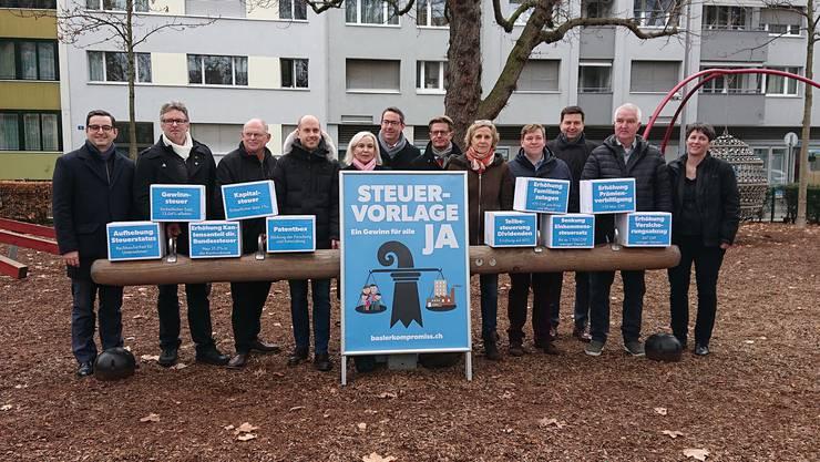 Politiker von links bis rechts unterstützen die kantonale Umsetzung der Steuervorlage 17.