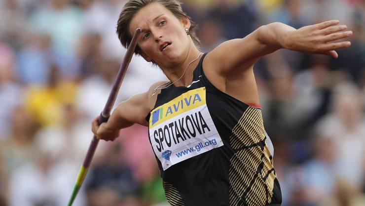 Barbora Spotakova.
