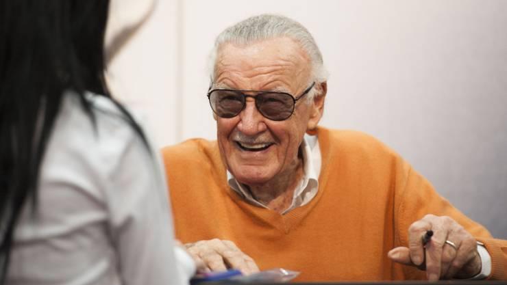 Comic-Autor Stan Lee ist auch mit 94 noch nicht müde und arbeitet an einem neuen Superhelden. (Archiv)