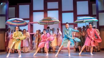 Wird bereits zum vierten Mal im Seetal gespielt: die Operette «Im Weissen Rössl» von Ralph Benatzky. Das Foto stammt von der ersten Durchlaufprobe am Mittwochabend.