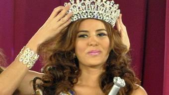 Die Krönung von Maria Jose Alvarado zur Miss Honduras im April