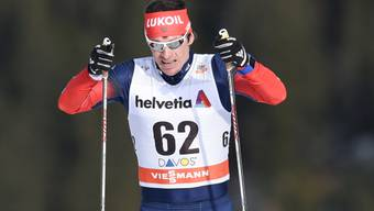Maxim Wylegschanin - im Bild an einem Weltcuprennen in Davos - muss seine beiden Medaillen von Sotschi abgeben