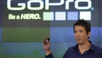 Muss die GoPro-Drohne kurz nach dem Start schon wieder zurückrufen: GoPro-Chef Nick Woodman. (Archiv)