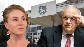 Irène Kälin verlangt in einer Interpellation Antworten von Wirtschaftsminister Schneider-Ammann zum GE-Kahlschlag.
